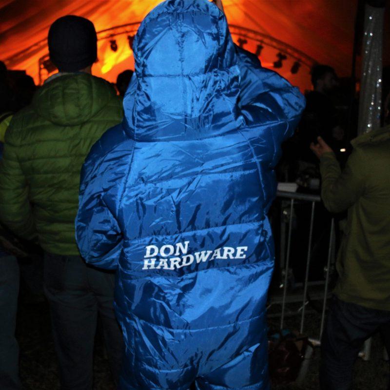 Festival Wearable sleeping bag suit onesie