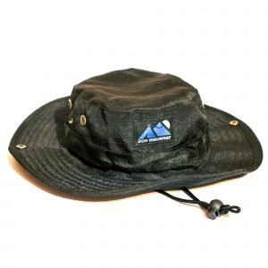 Black Cargo sun bucket hat