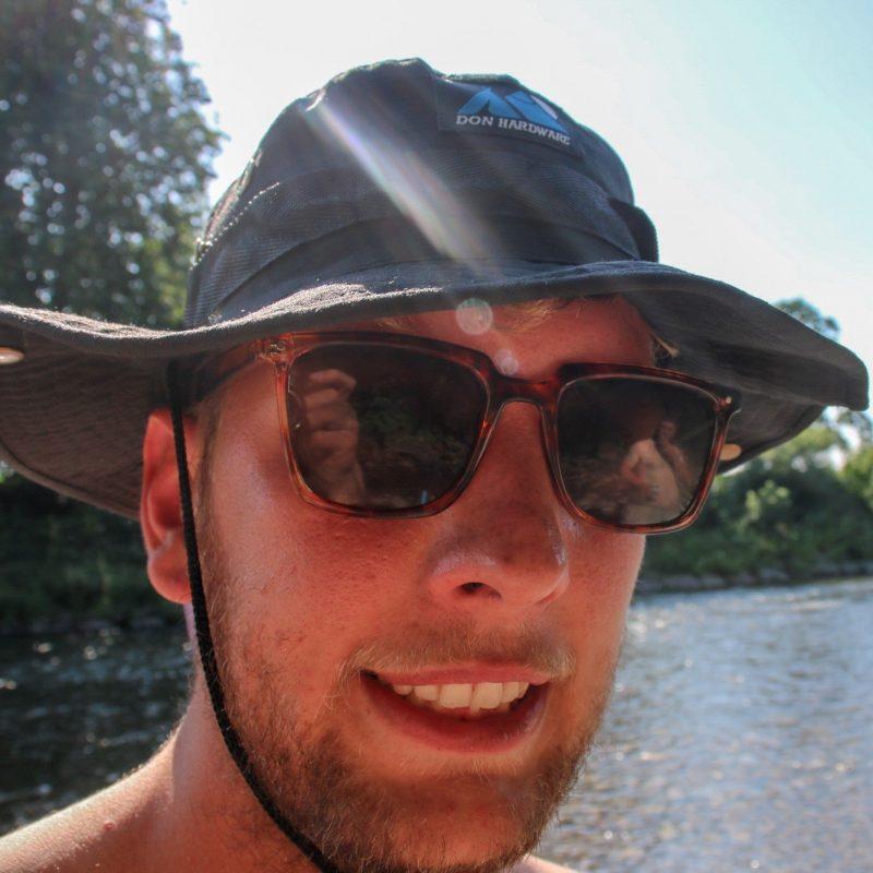 Don Hardware cargo bucket hat