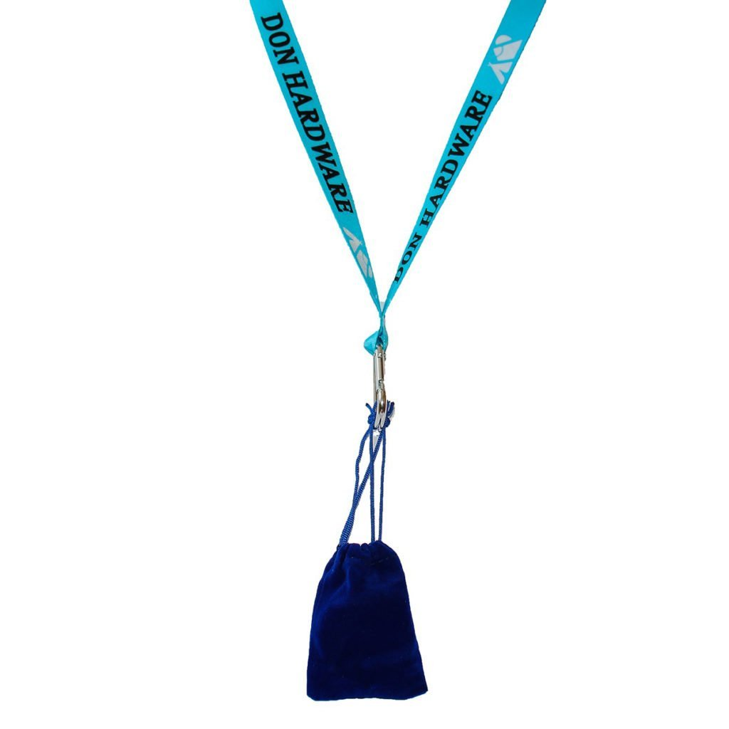 Don Hardware Lanyard and Pouch