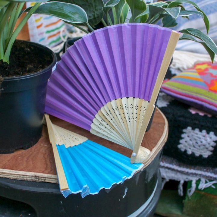 Don Hardware Silk Hand fan