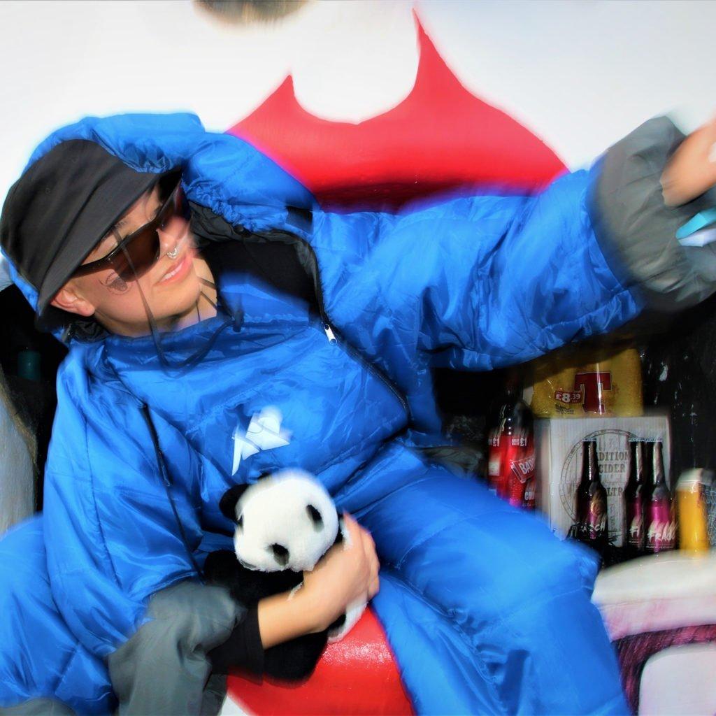 Don Hardware festival sleeping bag suit
